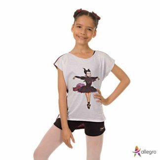 c36ee9983a Camisetas ballet e dança - tudo para bailarinas - Loja Allegro Estilo